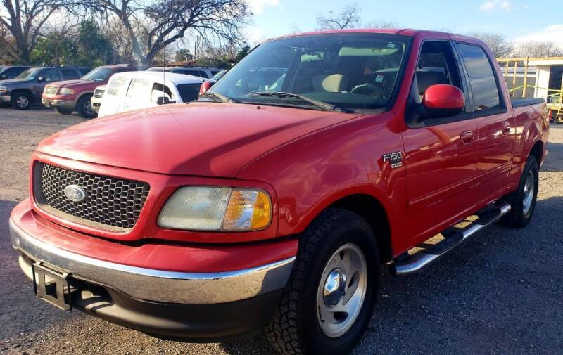 2003 Ford F-150 for sale at Jackson Motors Used Cars in San Antonio TX