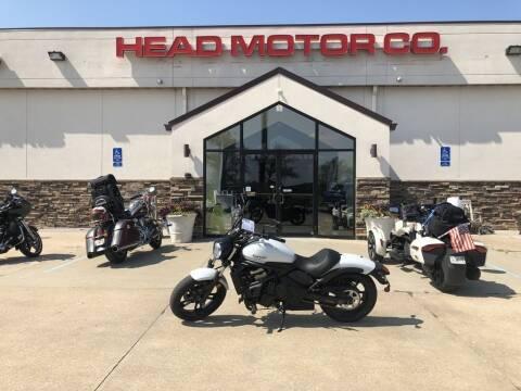 2018 Kawasaki Vulcan for sale at Head Motor Company - Head Indian Motorcycle in Columbia MO