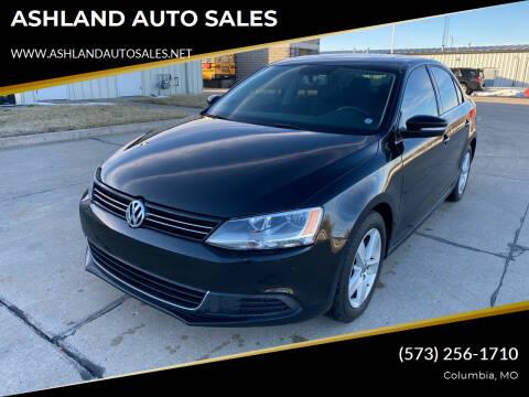 2013 Volkswagen Jetta for sale at ASHLAND AUTO SALES in Columbia MO