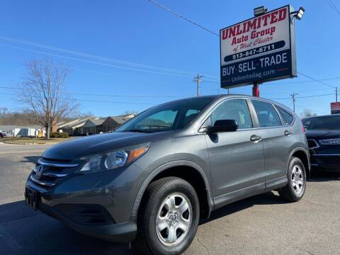 2012 Honda CR-V for sale at Unlimited Auto Group in West Chester OH
