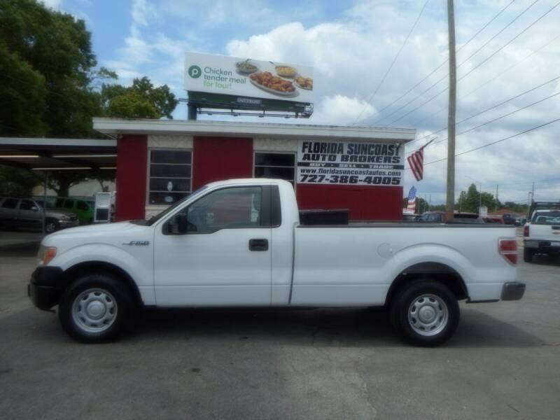 2013 Ford F-150 for sale at Florida Suncoast Auto Brokers in Palm Harbor FL