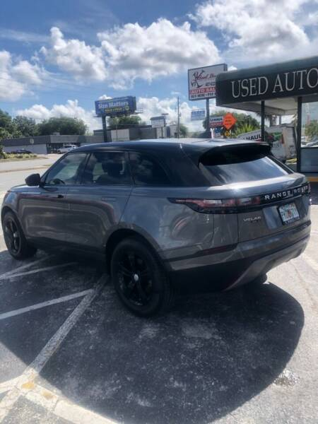 2018 Land Rover Range Rover Velar for sale at WHEEL UNIK AUTOMOTIVE & ACCESSORIES INC in Orlando FL