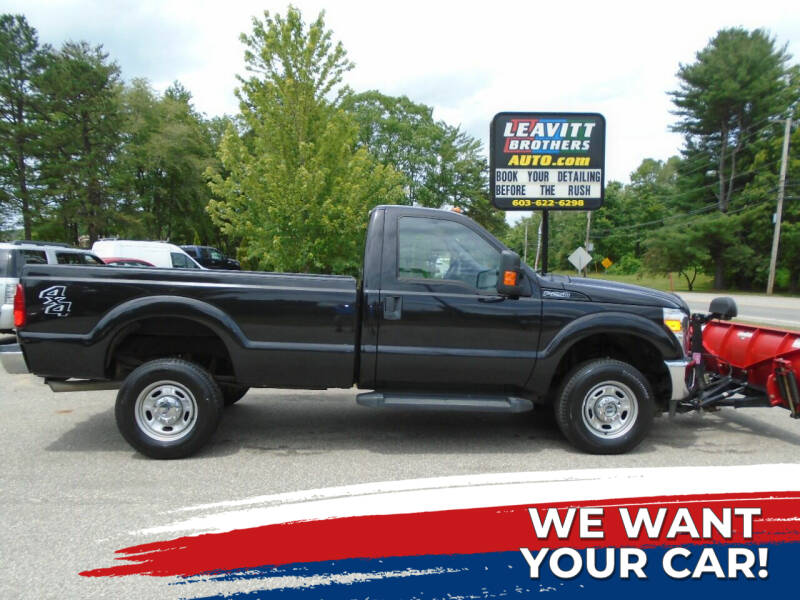 2015 Ford F-250 Super Duty for sale at Leavitt Brothers Auto in Hooksett NH