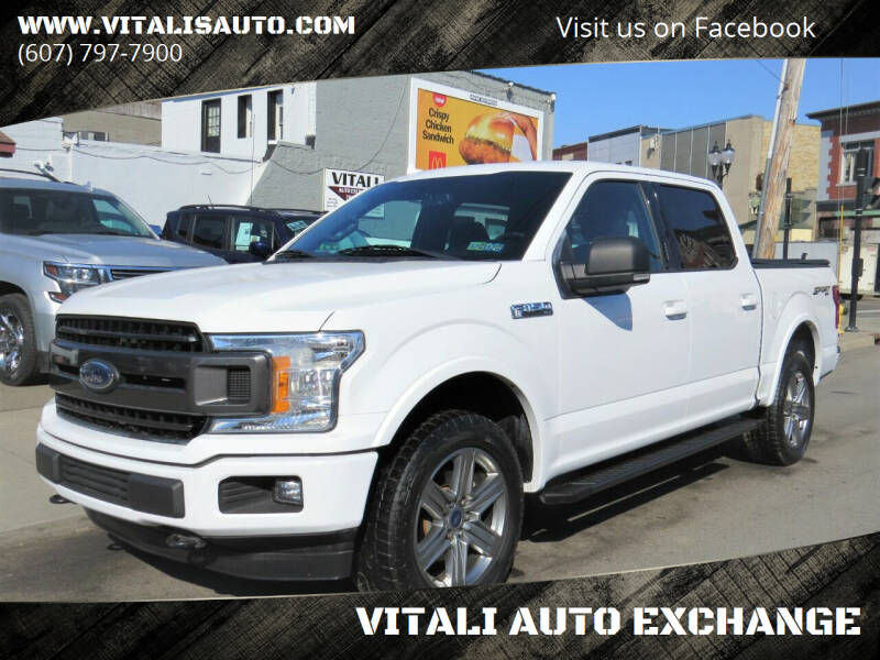 2018 Ford F-150 for sale at VITALI AUTO EXCHANGE in Johnson City NY