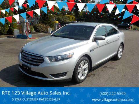 2016 Ford Taurus for sale at RTE 123 Village Auto Sales Inc. in Attleboro MA
