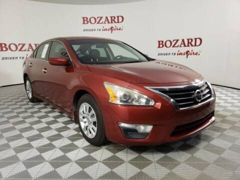 2015 Nissan Altima for sale at BOZARD FORD in Saint Augustine FL
