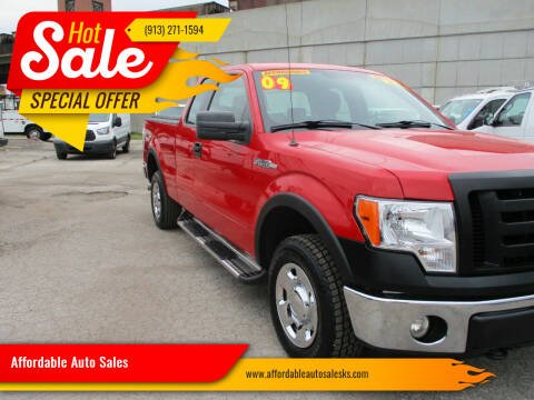 2009 Ford F-150 for sale at Affordable Auto Sales in Olathe KS