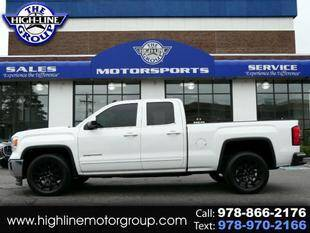 2015 GMC Sierra 1500 for sale at Highline Group Motorsports in Lowell MA