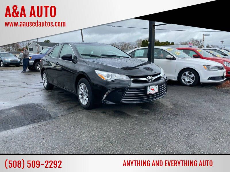2015 Toyota Camry for sale at A&A AUTO in Fairhaven MA