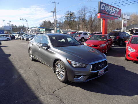 2018 Infiniti Q50 for sale at Comet Auto Sales in Manchester NH