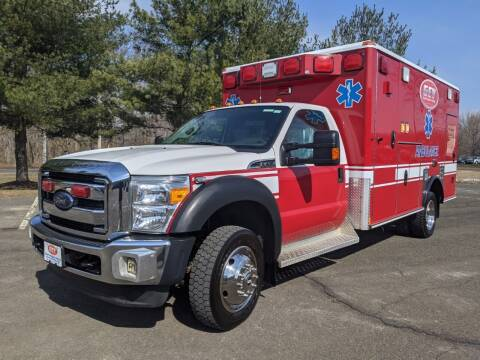 2012 Ford F450 Wheeled Coach Ambulance for sale at Global Emergency Vehicles Inc in Levittown PA