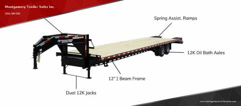 2021 TEXAS PRIDE 8½' x 35' + 5' Gooseneck for sale at Montgomery Trailer Sales - Texas Pride in Conroe TX