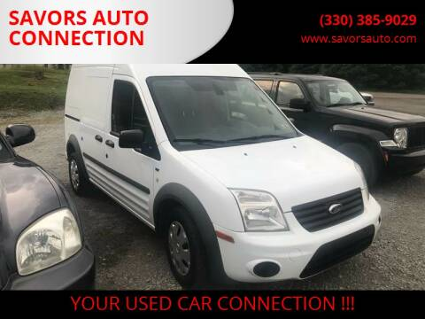 2013 Ford Transit Connect for sale at SAVORS AUTO CONNECTION LLC in East Liverpool OH