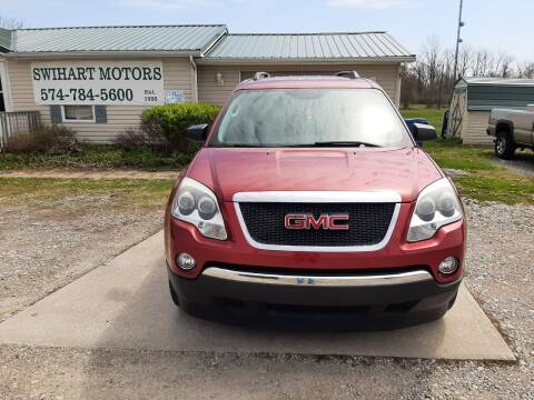 2012 GMC Acadia for sale at Swihart Motors in Lapaz IN