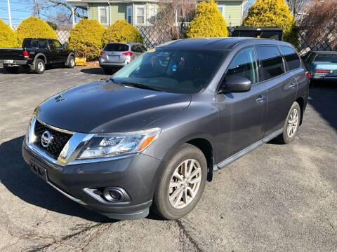 2014 Nissan Pathfinder for sale at Tony Luis Auto Sales & SVC in Cumberland RI