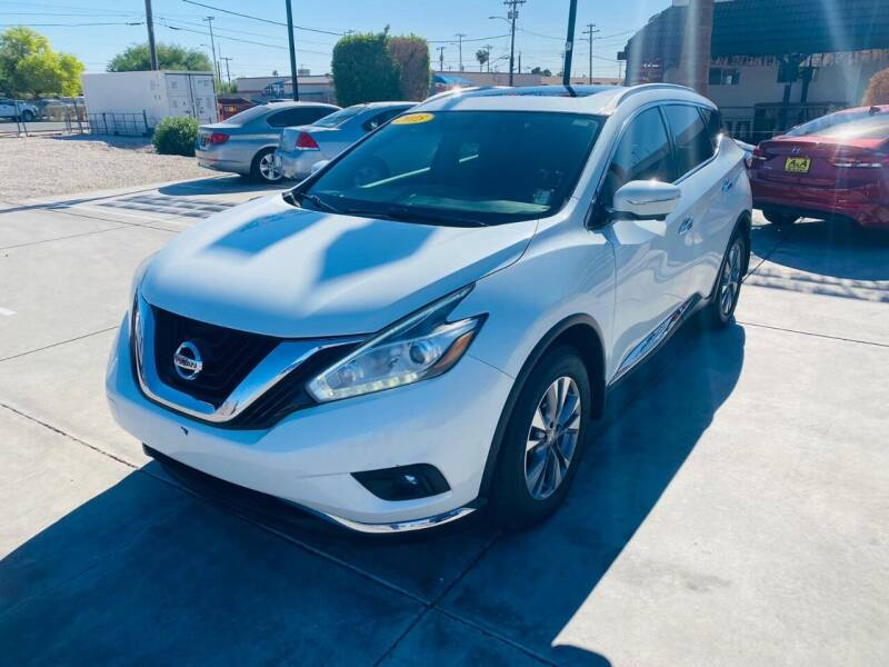 2015 Nissan Murano for sale at A AND A AUTO SALES in Gadsden AZ