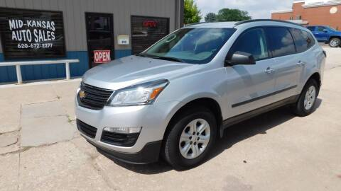 2017 Chevrolet Traverse for sale at Mid Kansas Auto Sales in Pratt KS