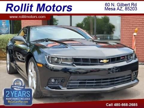 2014 Chevrolet Camaro for sale at Rollit Motors in Mesa AZ