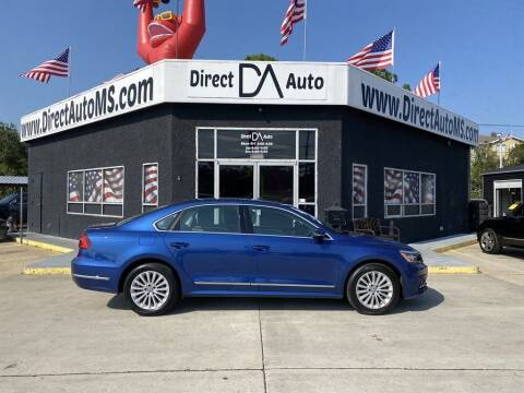 2016 Volkswagen Passat for sale at Direct Auto in D'Iberville MS