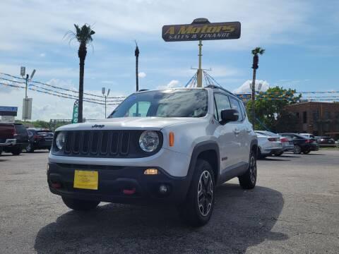 2016 Jeep Renegade for sale at A MOTORS SALES AND FINANCE - 10110 West Loop 1604 N in San Antonio TX