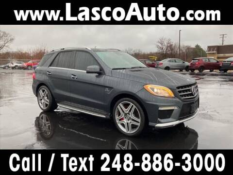 2014 Mercedes-Benz M-Class for sale at Lasco of Waterford in Waterford MI