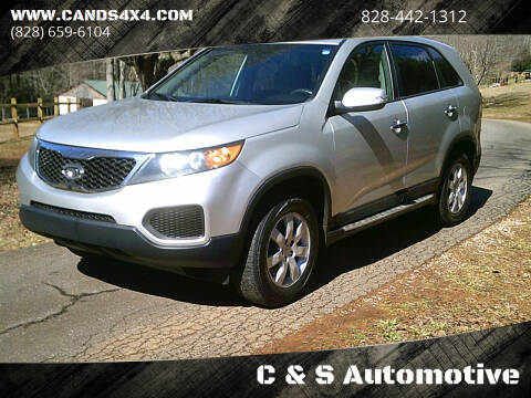 2012 Kia Sorento for sale at C & S Automotive in Nebo NC