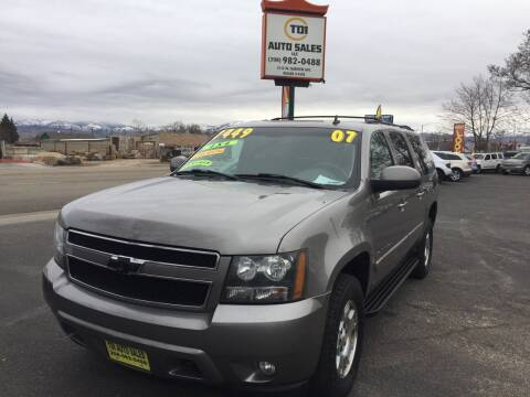 2007 Chevrolet Suburban for sale at TDI AUTO SALES in Boise ID