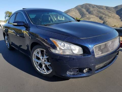 2010 Nissan Maxima for sale at Trini-D Auto Sales Center in San Diego CA