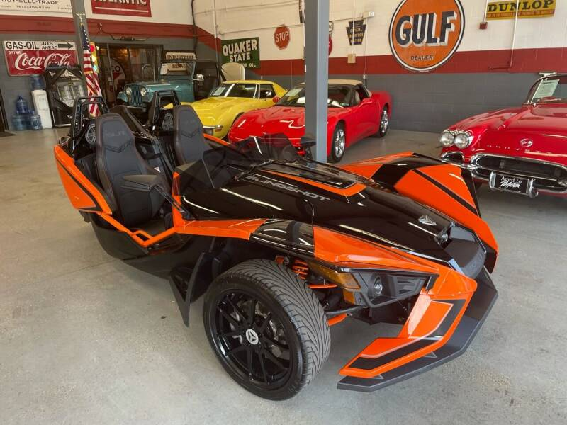 2017 Polaris Slingshot for sale at Trocci's Auto Sales in West Pittsburg PA