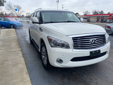 2014 Infiniti QX80 for sale at City to City Auto Sales in Richmond VA
