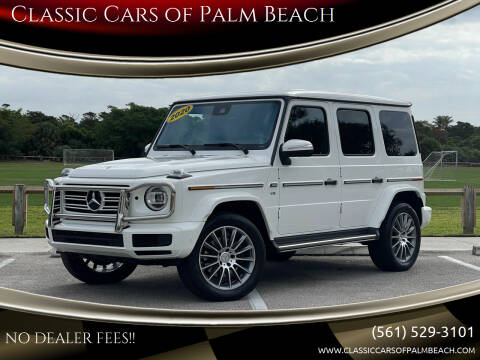 2020 Mercedes-Benz G-Class for sale at Classic Cars of Palm Beach in Jupiter FL