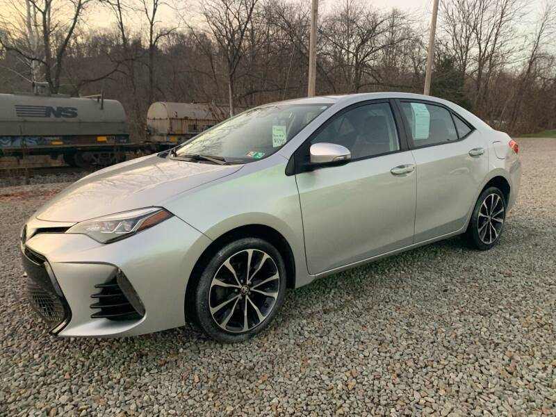 2017 Toyota Corolla for sale at Reds Garage Sales Service Inc in Bentleyville PA