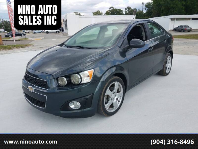 2015 Chevrolet Sonic for sale at NINO AUTO SALES INC in Jacksonville FL
