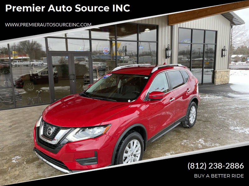 2017 Nissan Rogue for sale at Premier Auto Source INC in Terre Haute IN