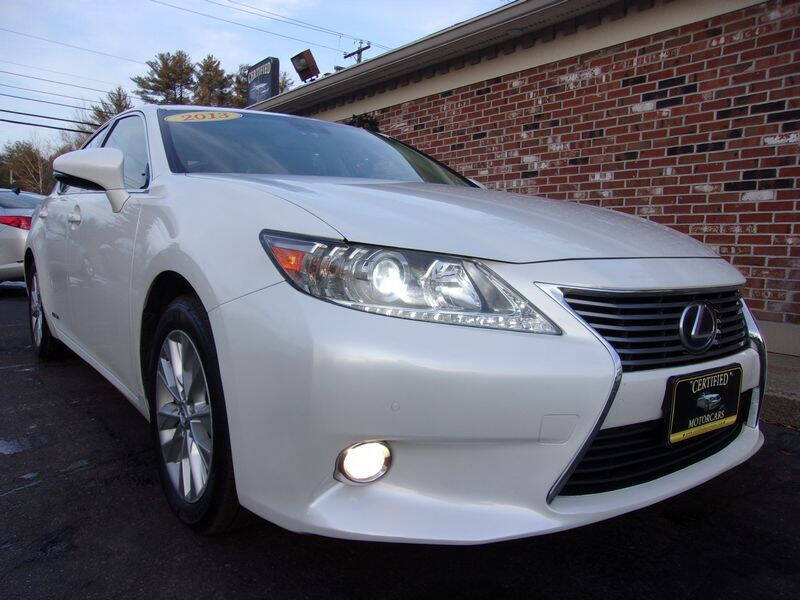 2013 Lexus ES 300h for sale at Certified Motorcars LLC in Franklin NH