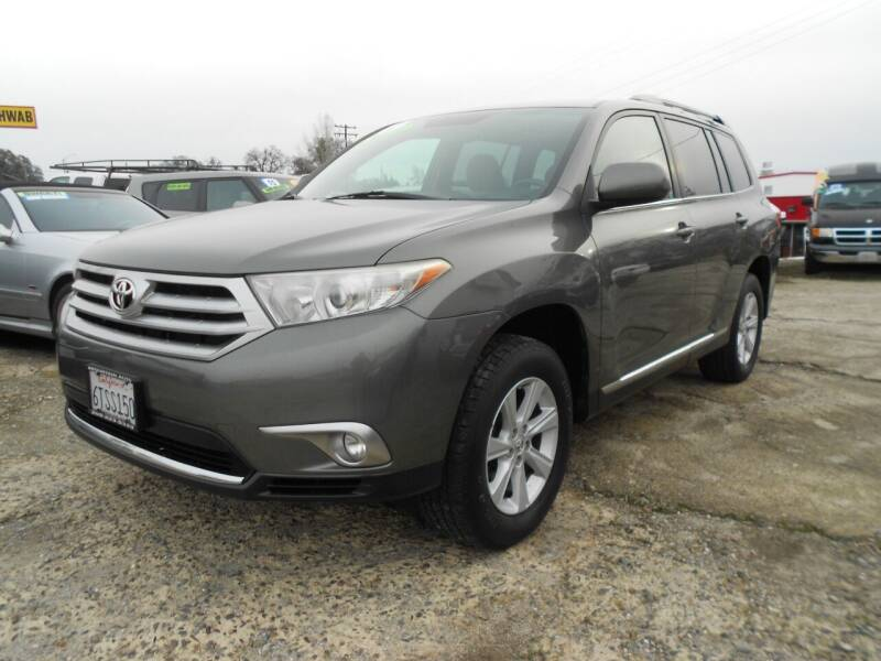 2012 Toyota Highlander for sale at Mountain Auto in Jackson CA