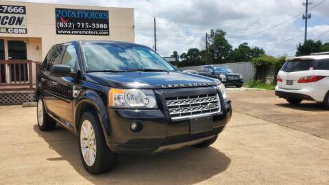 2010 Land Rover LR2 for sale at Zora Motors in Houston TX