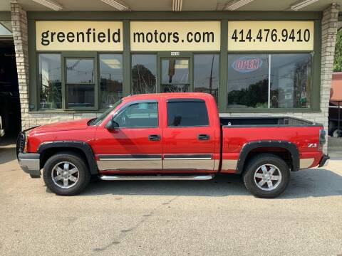 2005 Chevrolet Silverado 1500 for sale at GREENFIELD MOTORS in Milwaukee WI