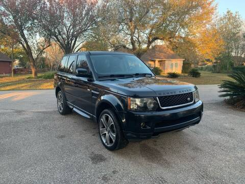 2012 Land Rover Range Rover Sport for sale at CARWIN MOTORS in Katy TX