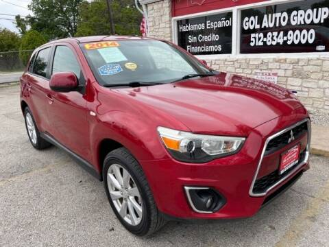 2014 Mitsubishi Outlander Sport for sale at GOL Auto Group in Austin TX