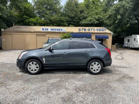 2010 Cadillac SRX for sale at Mad Motors LLC in Gainesville GA