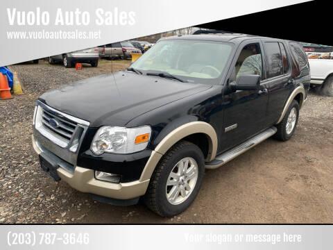 2008 Ford Explorer for sale at Vuolo Auto Sales in North Haven CT
