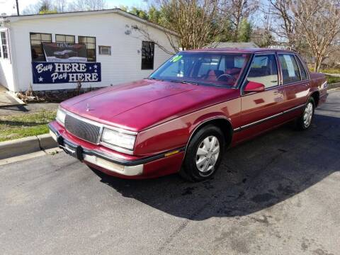 1990 Buick LeSabre for sale at TR MOTORS in Gastonia NC