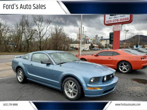 2006 Ford Mustang for sale at Ford's Auto Sales in Kingsport TN