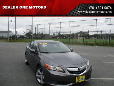 2015 Acura ILX for sale at DEALER ONE MOTORS in Malden MA