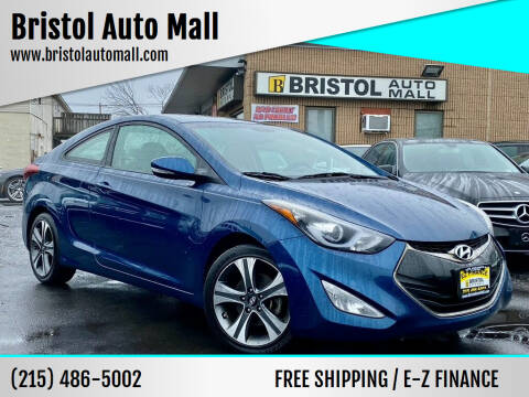2014 Hyundai Elantra Coupe for sale at Bristol Auto Mall in Levittown PA