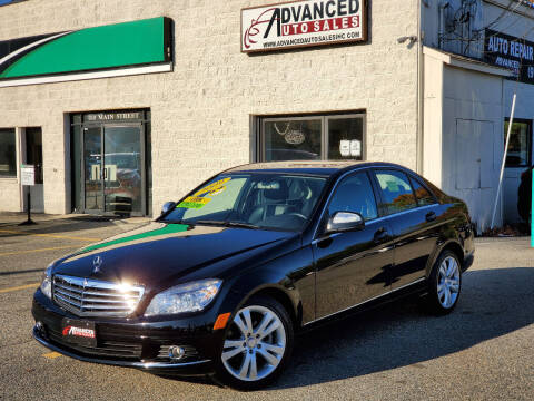 2009 Mercedes-Benz C-Class for sale at Advanced Auto Sales in Tewksbury MA