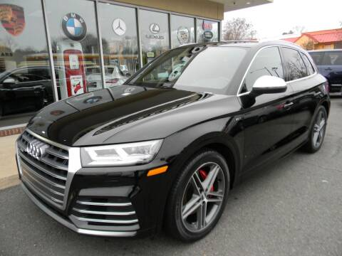 2018 Audi SQ5 for sale at Platinum Motorcars in Warrenton VA