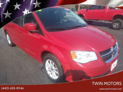 2013 Dodge Grand Caravan for sale at TWIN MOTORS in Madison OH