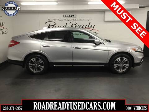 2014 Honda Crosstour for sale at Road Ready Used Cars in Ansonia CT